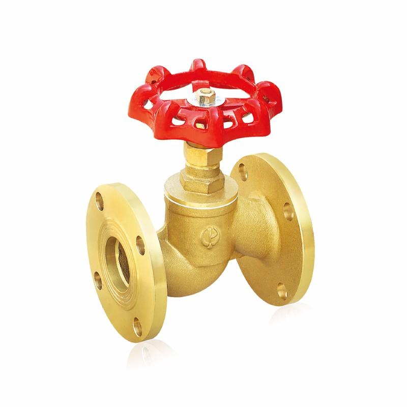 黄铜法兰截止阀用于变压器