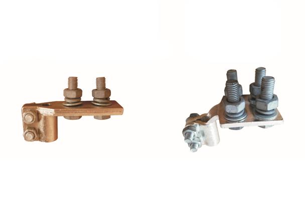 直角端子(两孔和四孔)用于变压器