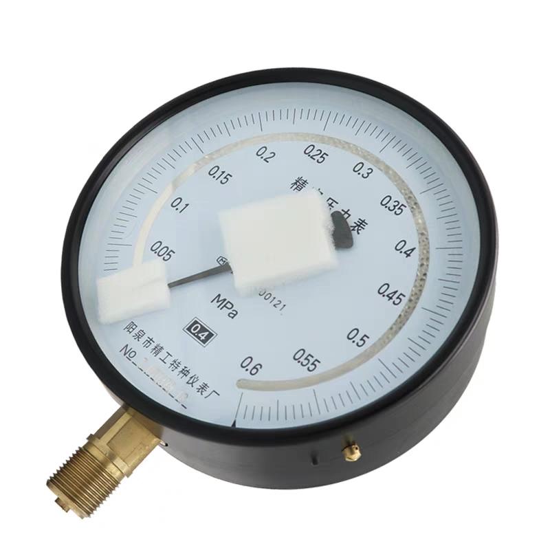 精密压力表0.4级 YB150高精度天然气0-0.1/0.4/0.6/60/100MPA包邮