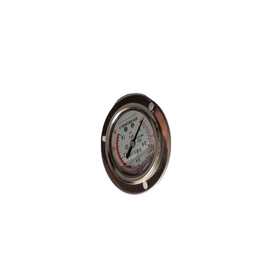 阳泉精工 桥梁千斤顶用充油精密耐震压力表/YTNB-150 0.4级 60MPa