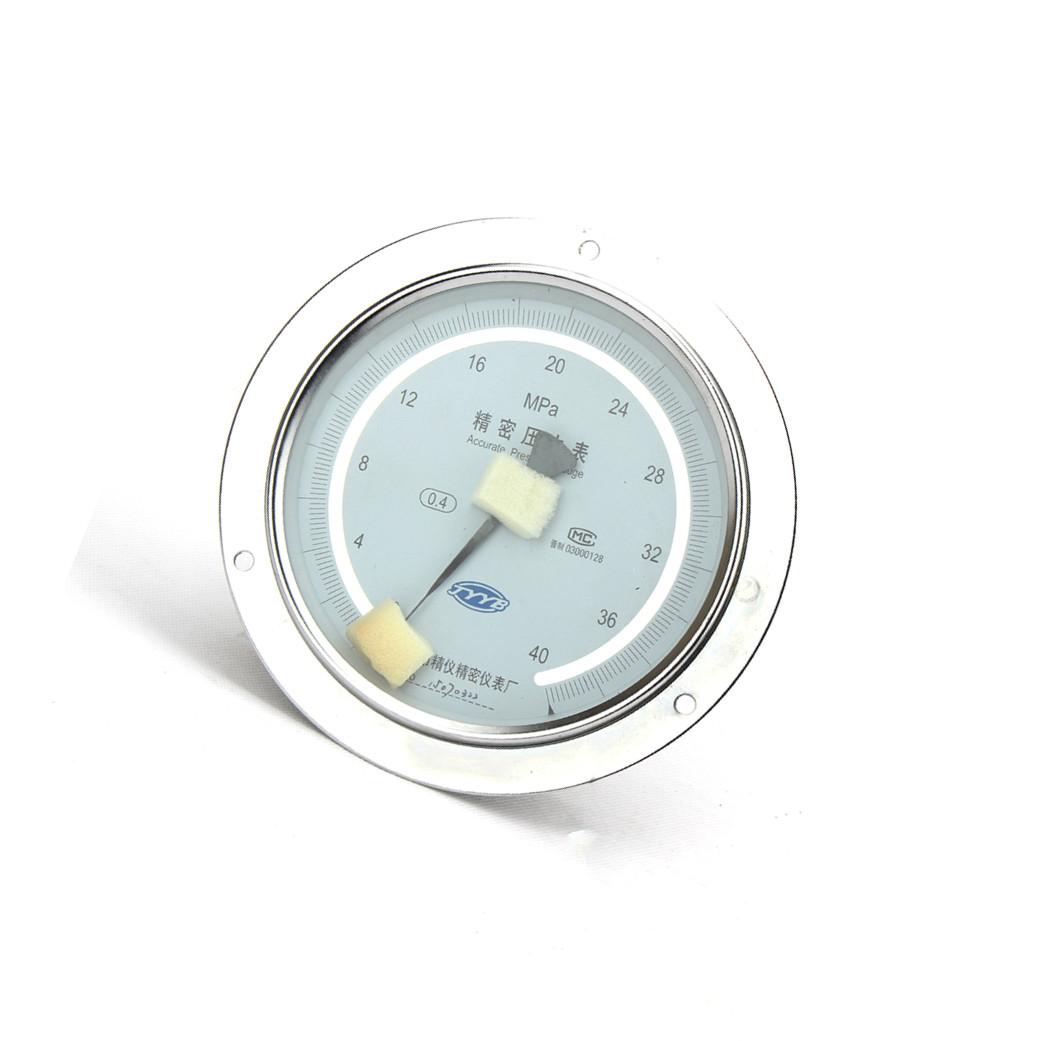 精密压力表轴向带边 精密压力表山西阳泉精密压力表YB150ZT 0.4级