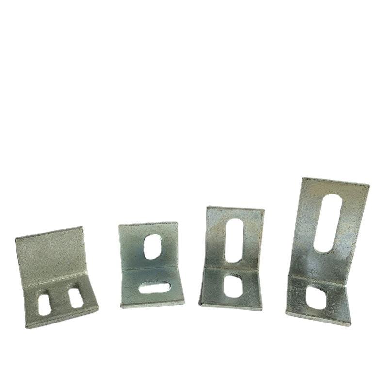幕墙连接件铁镀锌角码连接挂件直角90度铁件
