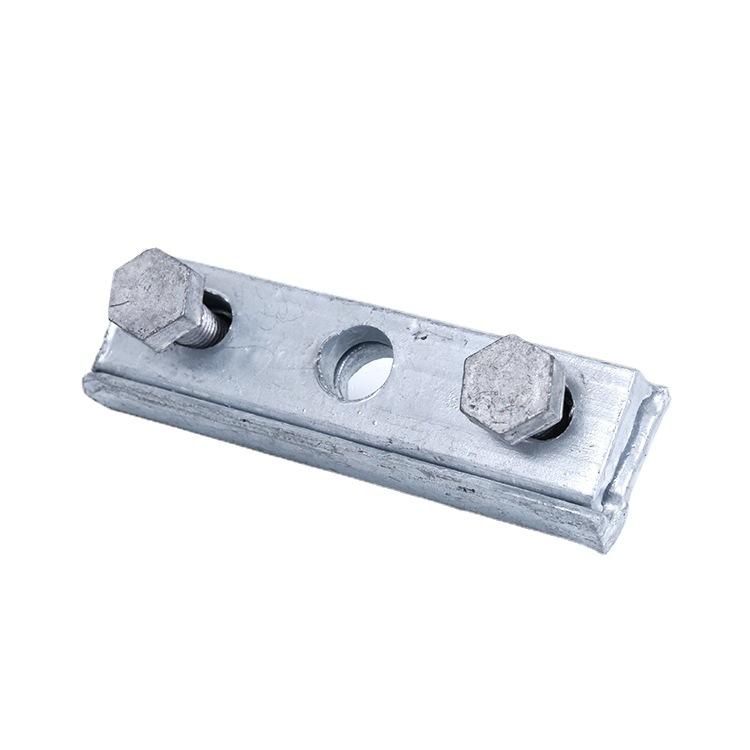 大量批发单槽夹板三眼夹板 线路铁件三眼镀锌夹板