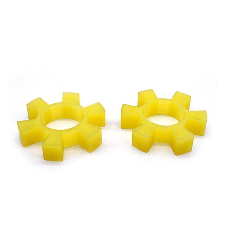 优质聚氨酯六角轮对轮密封件缓冲垫菱形弹性联轴器减震牛筋50-210