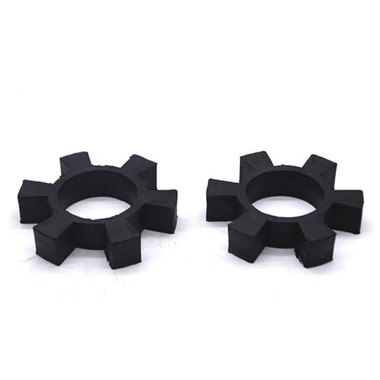 优质橡胶六角垫减震轮水泵缓冲垫减震垫联轴器弹性垫高弹性减震块