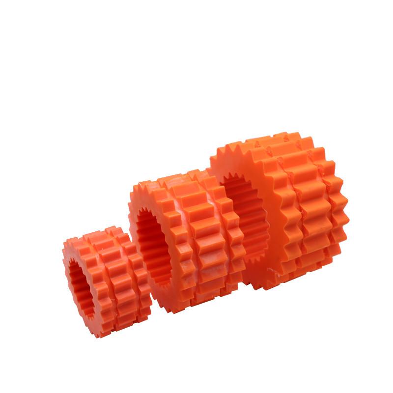 空压机橡胶齿轮联轴器减震套弹性缓冲减震阿特拉斯螺杆式空压机轮