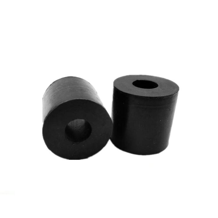 黑色橡胶缓冲弹性圈联轴器销钉缓冲垫橡胶套柱销减震套耐磨圈