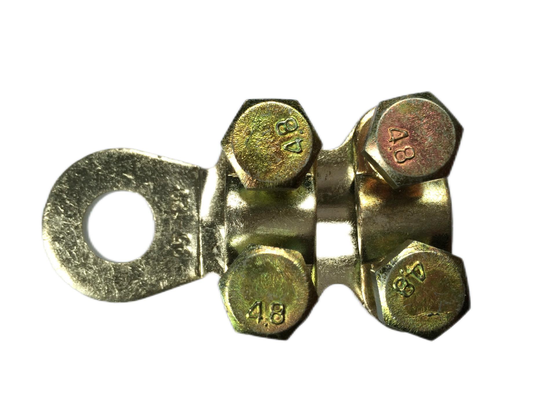 梅花型铜接线夹